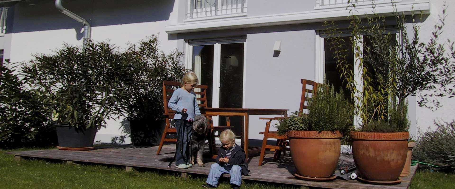 Mietwohnungen für Familien bei Dier Wohnbau